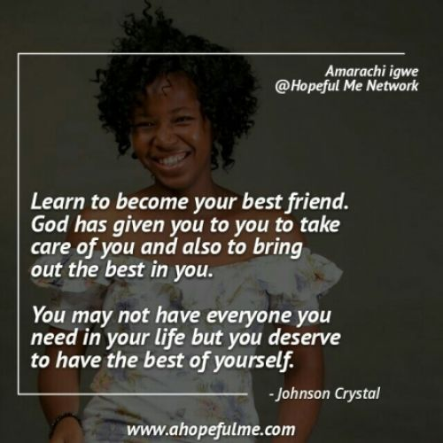 Become your Best friend