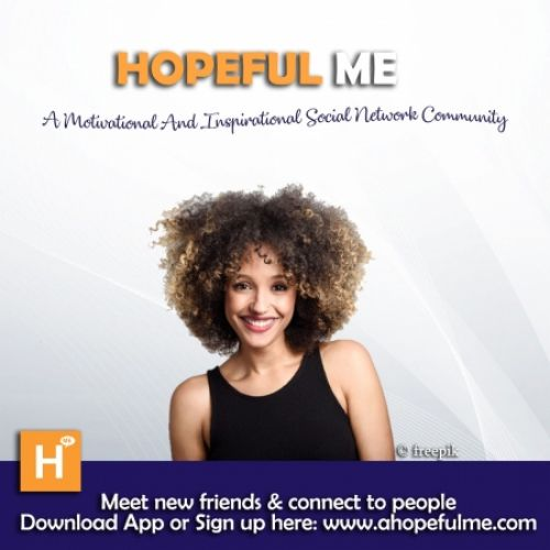 Stay connected to Hopeful Me Network