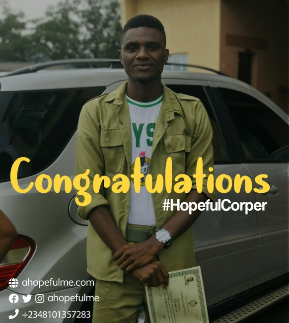 Hopeful Corper