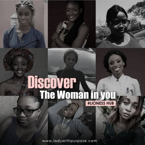 DUSCOVERING THE WOMAN IN YOU