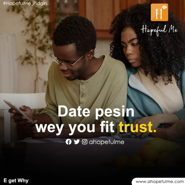 date person you fit trust