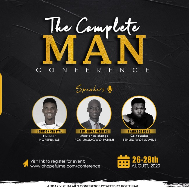 THE COMPLETE MAN CONFERENCE Speakers