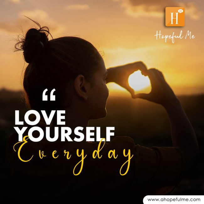 Love yourself everyday