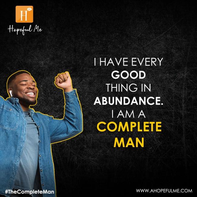 in abundance