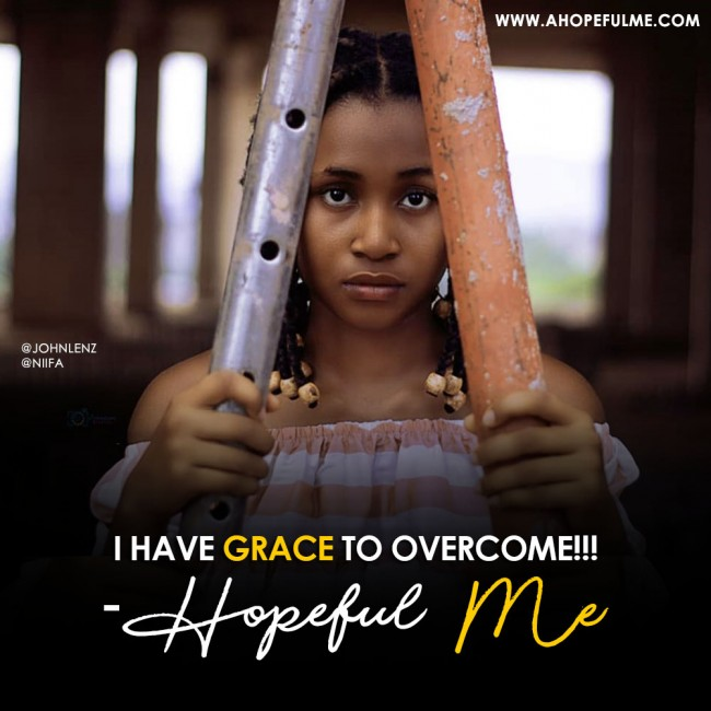 Grace to overcome