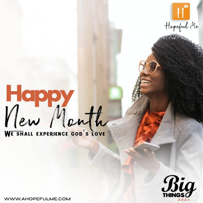 Happy New month from HopefulMe.
