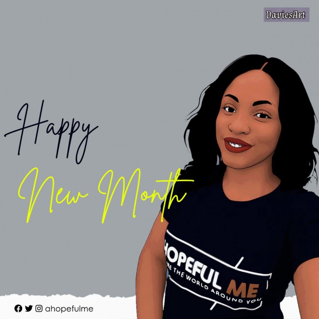 Happy New month from HopefulMe