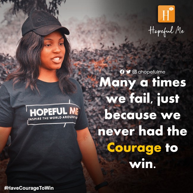 Have the courage to win🔥