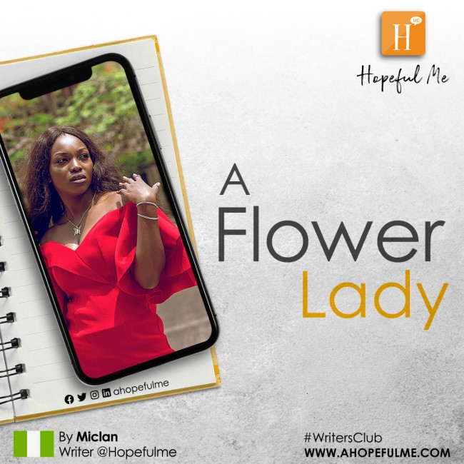 A flower Lady