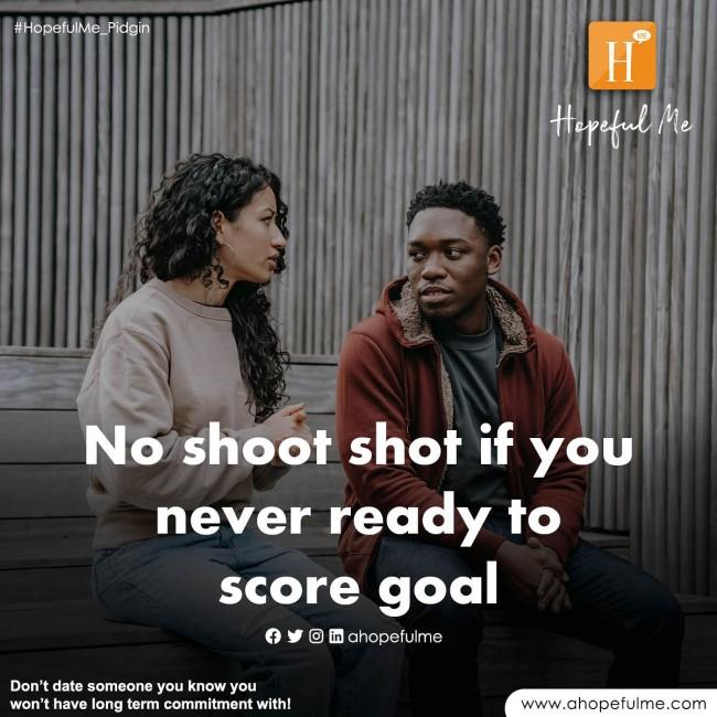 No shoot shot
