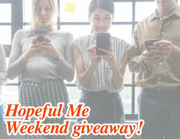 Weekend giveaway!
