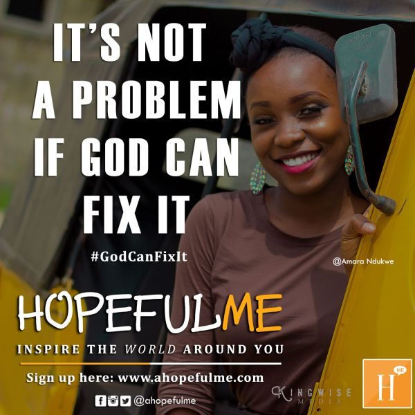 God can fix it