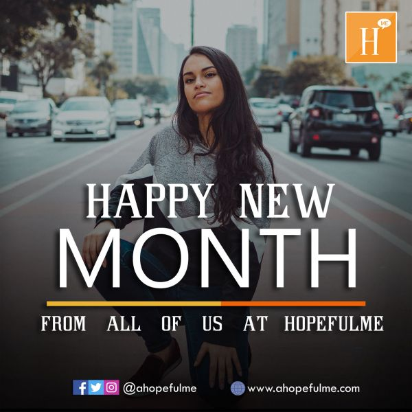 Happy New Month...