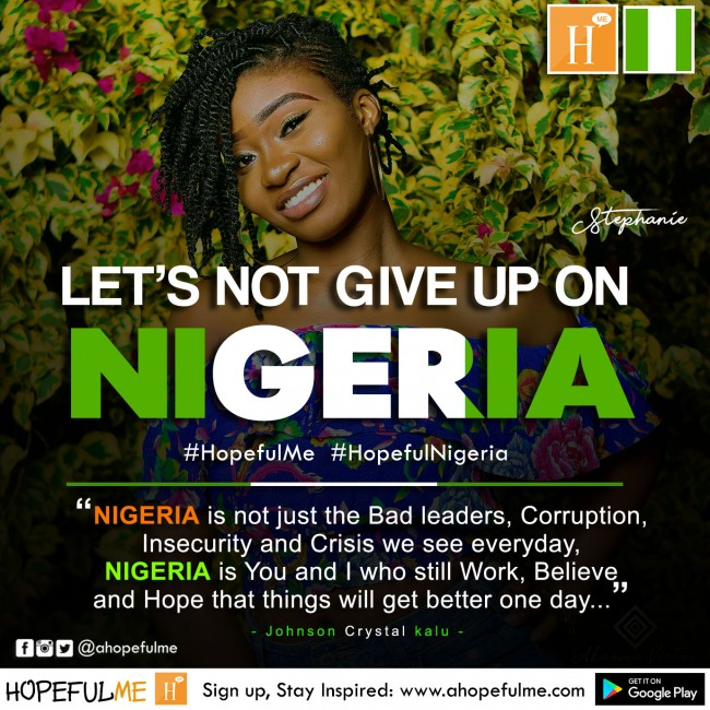 A Hopeful Nigeria