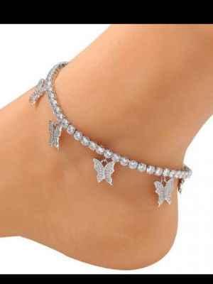 Original Butterfly anklet