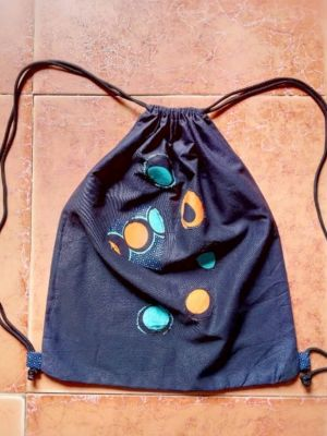 Drawstring backpack..