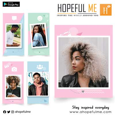 Hopeful Me Cards